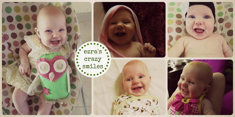 ezra's crazy smiles