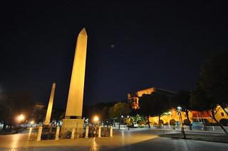 Attēls no Obelisk of Theodosius.