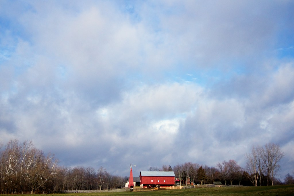 Big Sky and Barn