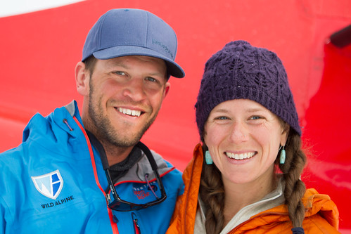 Wild Alpine Co-Owners, Eli Potter and Aria Thomases