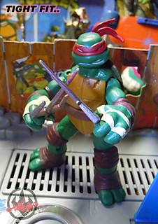 "Nickelodeon ""MUTAGEN OOZE"" TEENAGE MUTANT NINJA TURTLES :: OOZE TOSSIN' RAPH  - E // ..head swap with original Nick Raphael (( 2013 ))"