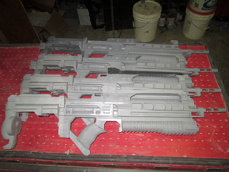Helghast Rifle Casting Lineup