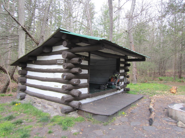 Deer lick shelter on appalachian trail sorry