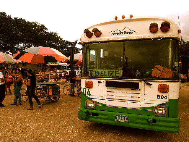 Belize bus station