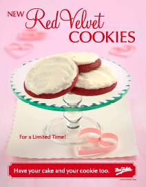 Mrs. Fields Red Velvet Cookies