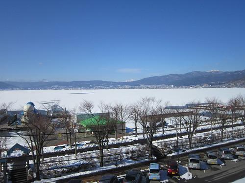 ①★「くらすわ」から見た諏訪湖 2013.1.24 by Poran111