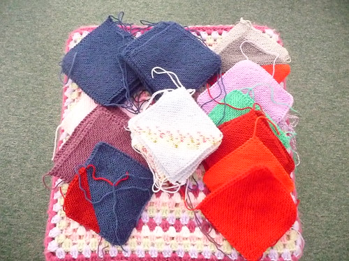 Great selection of Knitted Squares