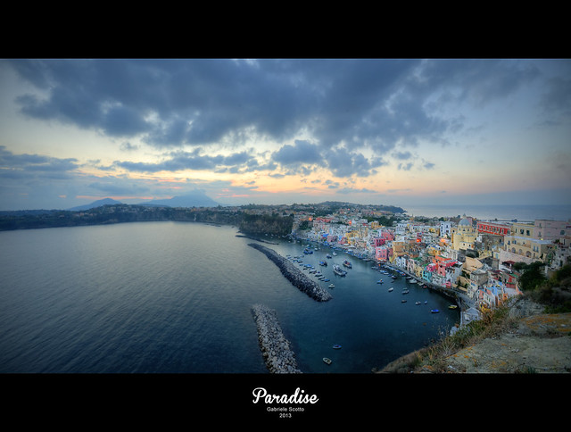 Procida: La Corricella - ITALY