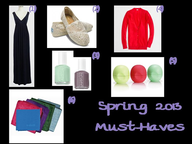 Spring 2013 Must Haves