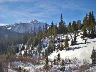 View Westward from Herman Gulch