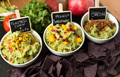 three creative guacamole recipes