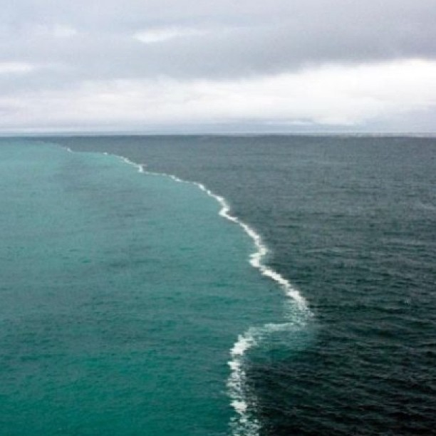 cape point south africa where indian and atlantic ocean meet
