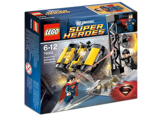 LEGO Super Heros 76002 - Superman's Metropolis Showdown
