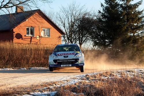 Craig Breen (Peugeot Sport) Rally Liepaja-Ventspils 2013