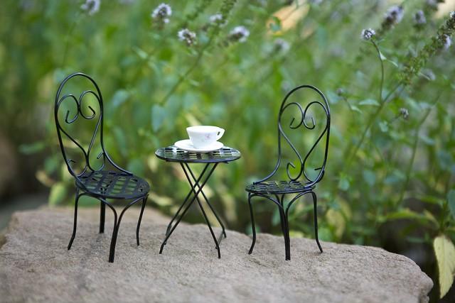 Fairy Gardening Seating