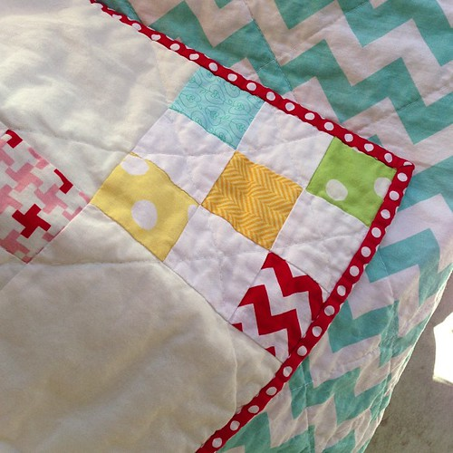 It's finished!! Yay @brynn79 for quilting and binding it!