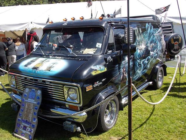 1975 Chevrolet Chevy Van custom van 'The Black Pearl'