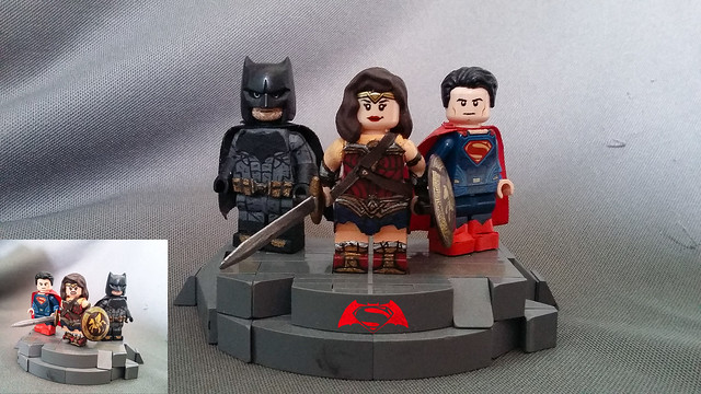 Custom/Updated Lego-BvS Trinity