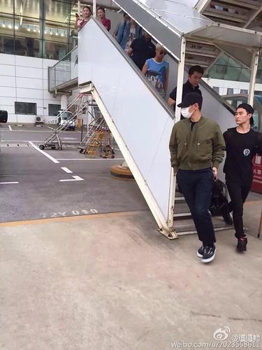 Big Bang - Wuhan Airport - 27jun2015 - 2023558611 - 02
