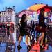 """Rainy Days"" Piccadilly Circus, London, UK by davidgutierrez.co.uk"