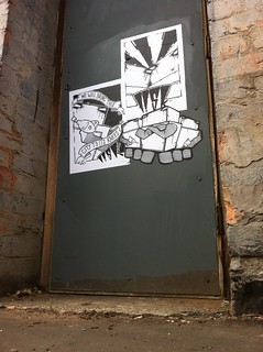 Liskbot Doorway Paste Ups