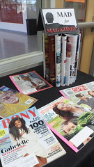Mad for Magazines library display