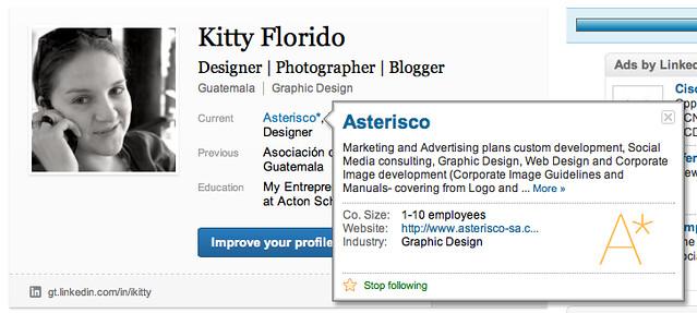 LinkedIn - Individual Profile
