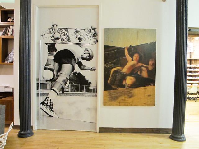 Historic Pieces @ Vans Showroom