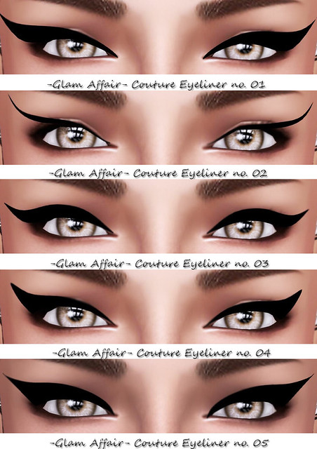 -Glam Affair- Couture Eyeliner no.01-05