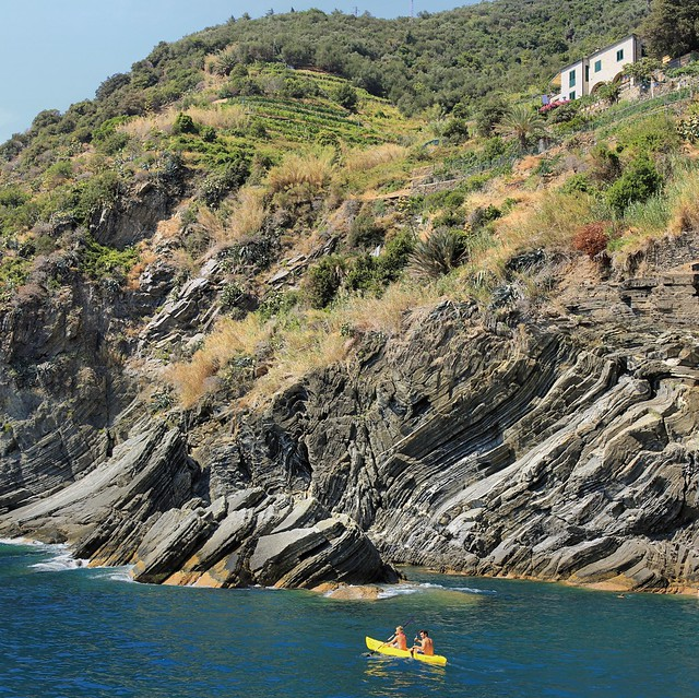 Sea kayak adventure from Vernazza to Monterosso