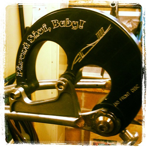 Good morning disc brake tab. by Rebolledo Cycles