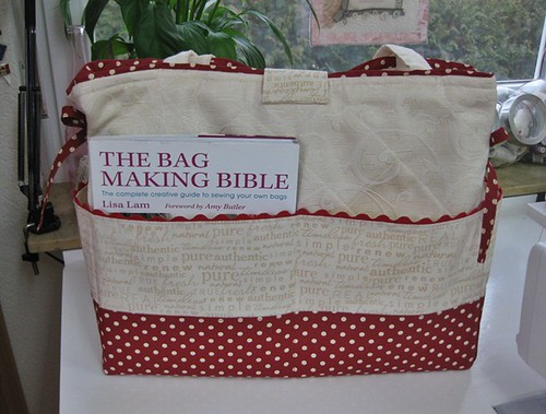 Sewing Bag - Back side