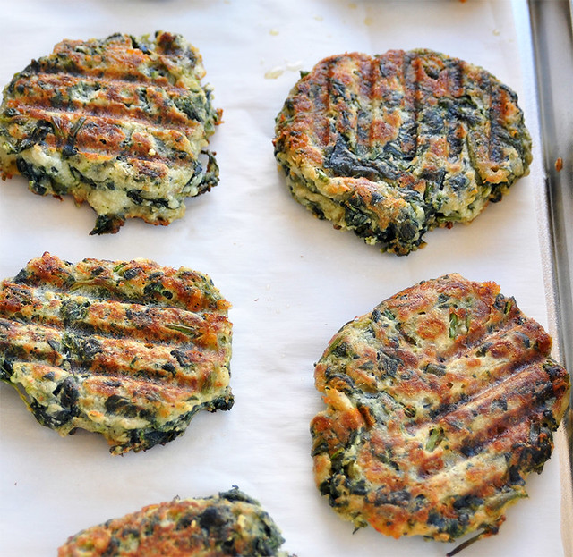 Spinach and Ricotta Fritters