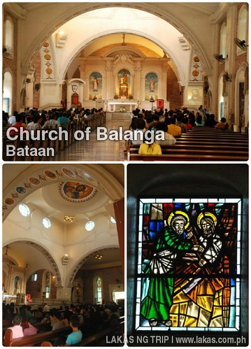 Inside the Church of Balanga, Bataan