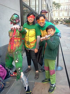 New York Comic Con 2012 :: Zomies n Turtles @ Rockefeller Lego