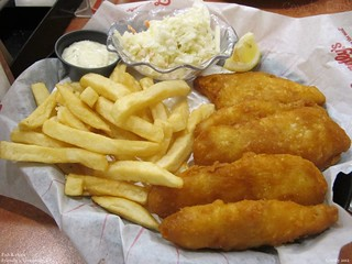 Friendly's New England Fish 'n' Chips