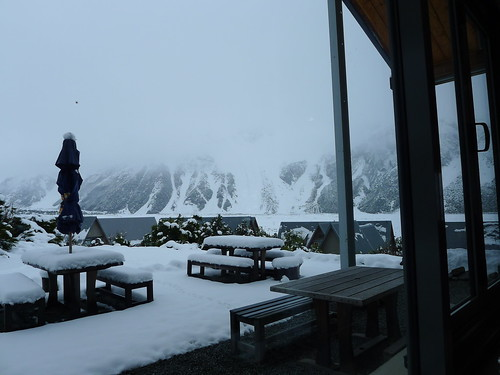庫克山村冬景色 @ old mountaineers cafe