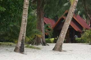 Bungalow directly on the beach