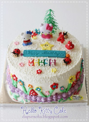 Hello Kitty Cake for Vanda