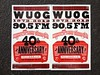 WUOG Anniversary poster from Hatch Show Print! by sssdc1