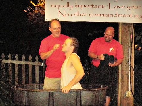 PA140207 Jim baptizes Martin