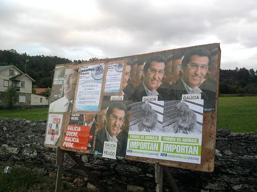Campaña electoral Galicia 2012