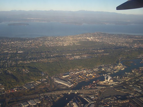 oct 048 - Over Seattle