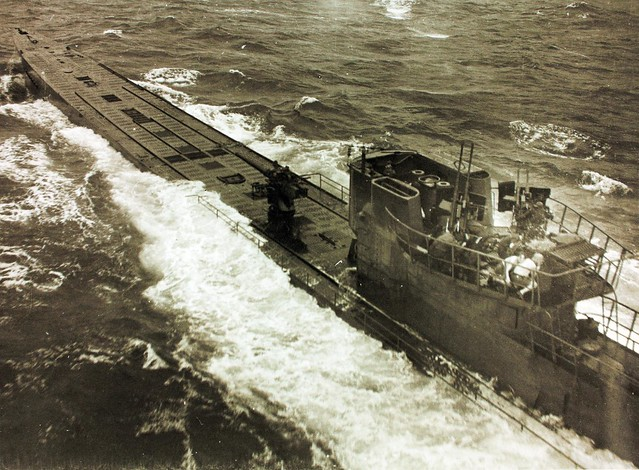 German U-848 Sinking by VPB-107 Aircraft