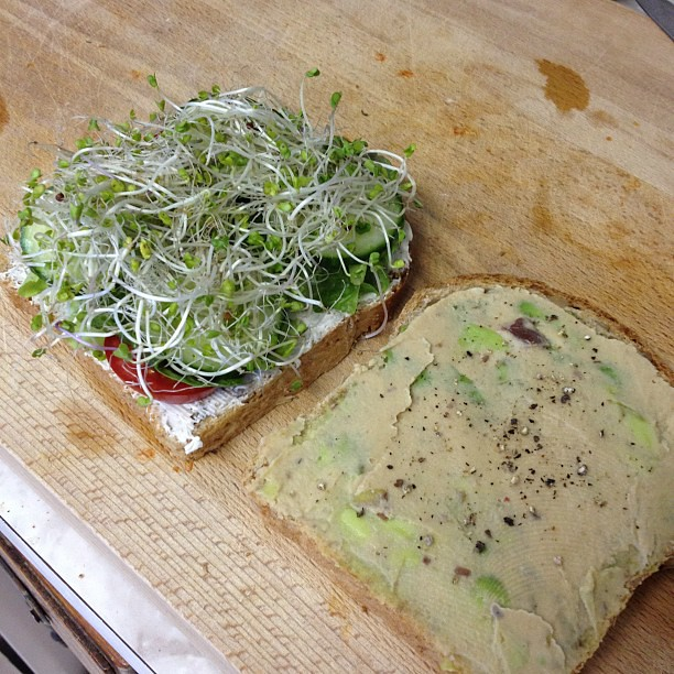 epic vegan sandwich