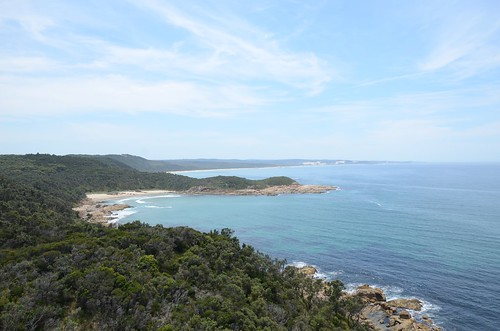 View from Point Hicks lighthouse - Croajingolong National Park - Victoria