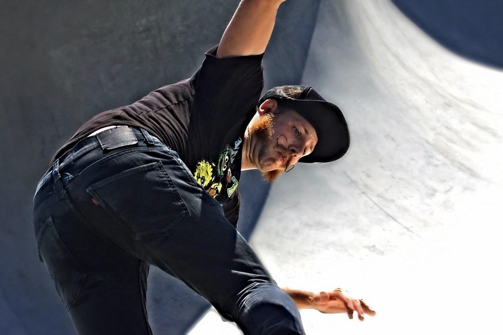 A Skateboarder In L.A.