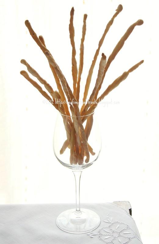 Grissini al finocchio e olio d'oliva (con il rinfresco)