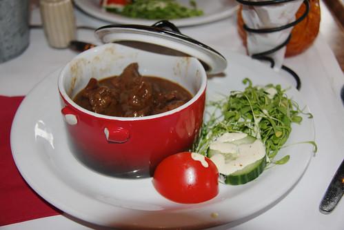 Flemish Beef Stew in Bruges
