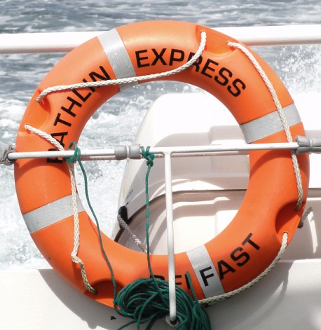 Rathlin Express Life Buoy Ring